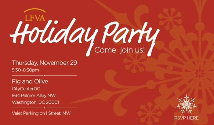 2018 LFVA Holiday Party